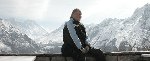 Basia Kruszewska in the Himalayas