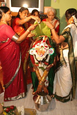 India Ink Bangle Ceremony