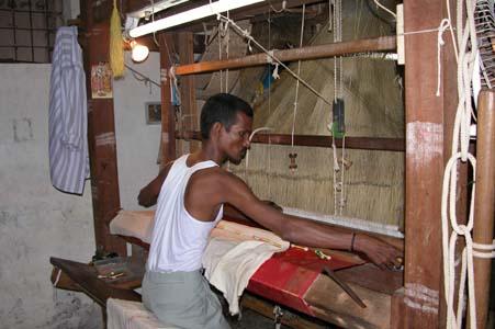 Silk weaver