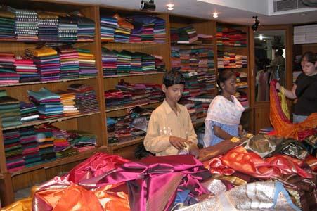 Silk sellers