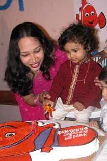 India Ink First Birthday Party