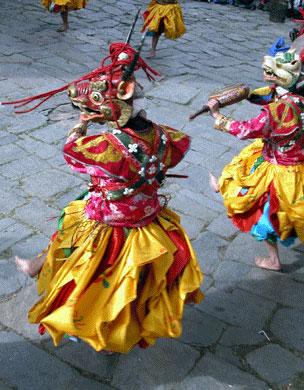 Prakar festival in Bhutan