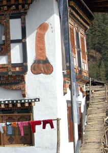 Bhutan phallus
