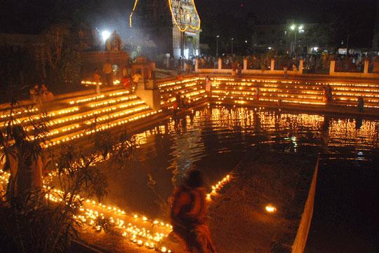 mahashivarathri at marundeeswarar temple